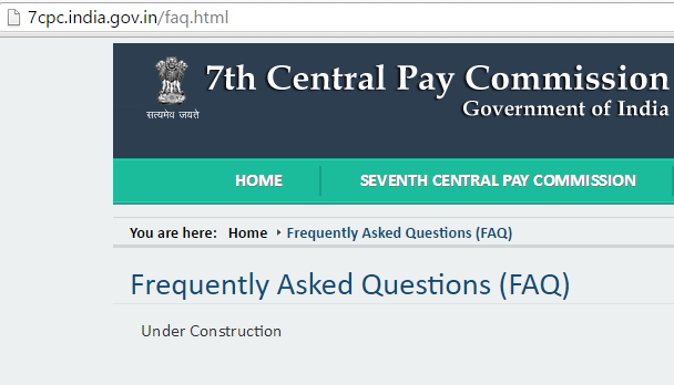 7th Pay Commission FAQ